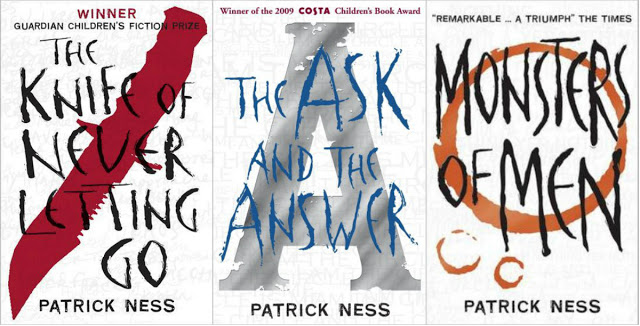Chaos Walking Covers